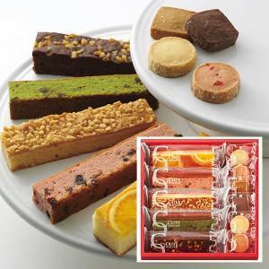見た目にも華やかなポップでカラフルなスティックケーキとクッキーを組み合わせたスイーツギフトです。チョ...