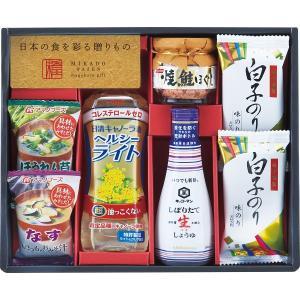 味香門和膳(みかどわぜん)アマノフーズ&キッコーマン和食詰合せ (MKD−20) 調味料 油 オイル ギフト s196655520|shoujikidou