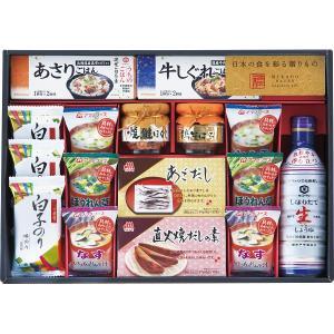 味香門和膳(みかどわぜん)アマノフーズ&キッコーマン和食詰合せ (MKD−40) 調味料 醤油 みそ汁 ギフト s196655554|shoujikidou