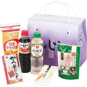 手提げバラエティセット (HK−CS) 調味料 醤油 ギフト 新生活 内祝 快気祝 ご法事 s196656607|shoujikidou