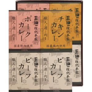 三田屋総本家 職人が選んだ肉使用 3種のカレーギフト (8食) 20-6222-140 レトルト 食品 ギフト 新生活 内祝 快気祝 ご法事|shoujikidou