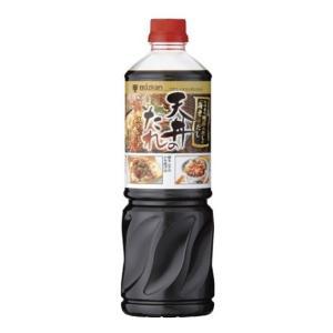 横浜中華街 業務用 ミツカン 天丼のたれ、ストレート 1200g X 1本売り! 鹿児島県、枕崎産の鰹節のだしとえびのだし♪|shoukoushu