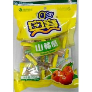 中国では定番の駄菓子です♪横浜中華街 中国お菓子 サンザシのお菓子 奥賽 山査酪 150g、 中華菓...