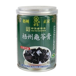 横浜中華街 梧州正宗 亀ゼリー(亀苓膏) 250g(缶)X 48缶(ケース売り)、中国では、美と健康づくりに、デザートとして、よく食べます♪|shoukoushu
