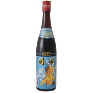 関帝 3年陳加飯 紹興酒 600ml(青ラベル)12本X1箱・送料無料!|shoukoushu