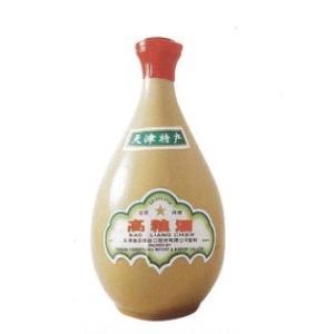 中国白酒 天津 高粮酒(高糧酒)62度 【壷】 500ML、62度と言う高い度数の高粮酒♪|shoukoushu