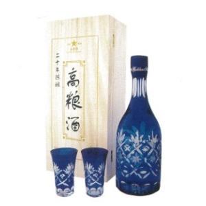 中国白酒 20年陳醸 高粮酒(高糧酒)53度 700ML、化粧箱付き、20年熟成させた最高級高粮酒♪|shoukoushu