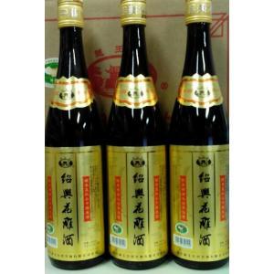 越王台 紹興花彫酒(金ラベル)16度、600mlX12本瓶(1ケース売り)、3年ブレンド!マイルドで飽きのこない飲みやすさが魅力です♪|shoukoushu