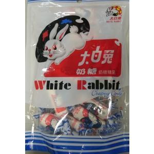 中国では定番の駄菓子です、糖果♪横浜中華街 上海名物 大白兔乃糖(ミルクキャンディ)108g、中国産...