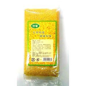 横浜中華街 稷馨 黄小米(アワ・粟米)400g、中国特選農作穀物・健康粗糧・お粥の人気材料♪