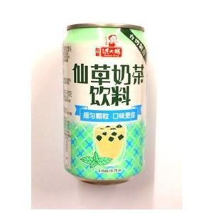 横浜中華街 台湾発 洪大媽 仙草乃茶(仙草ゼリーミルクティー) 315g缶、台湾を代表するドリンクで...