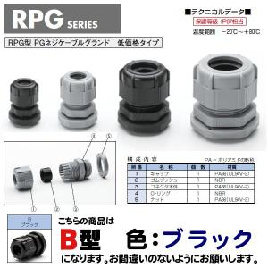 RPG9-8B RPG型 PGネジケーブルグランド(10個以...