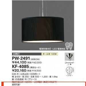 山田照明 照明器具 激安 PW-2491+KF-4085 ペ...