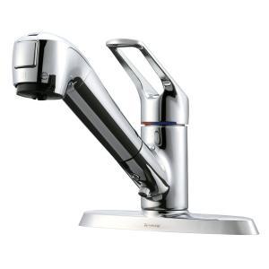 タカギ takagi キッチン・バス・トイレ キッチン水栓 JL256MK メーカー保証付き 限定特...