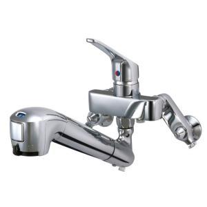 蛇口一体型浄水器 JL136AN みず工房エコ壁出し水栓(固定型)  タカギ(takagi) キッチン・バス・トイレ_lt|shoumei