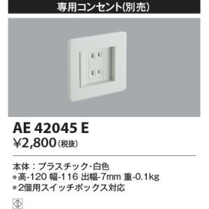 AE42045E コイズミ照明 照明器具 フットライト KOIZUMI_直送品1_|shoumei