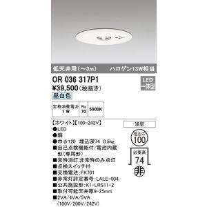 OR036317P1 オーデリック 照明器具 非常用照明器具 ODELIC|shoumei