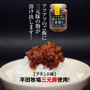 平田牧場三元豚 ご飯にかける生姜焼き|shounai-iimonoya