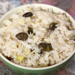 だだちゃ豆ごはんの素 六種雑穀 4袋 ゆうパケット便 送料無料 shounai-iimonoya