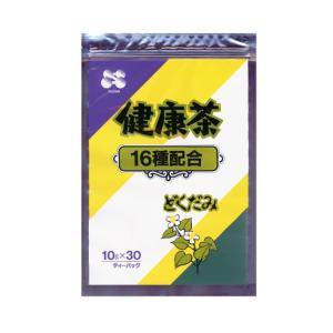 どくだみ健康茶  30包入 はとむぎ はぶ茶 大麦 ウーロン茶 プーアル茶 玄米 みかんの果皮 緑茶 杜仲葉 柿の葉 びわ葉 熊笹 くこ葉 キダチアロエ すぎな|showa-direct|02
