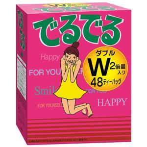 でるでるW  ダイエット ダイエットティー 茶 センナ茶 ノンカフェイン ノンカロリー 48包入り|showa-direct|02