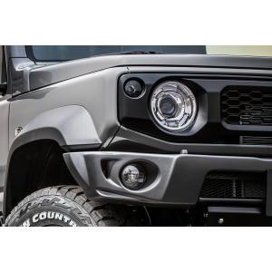 ABSフロントバンパー 未塗装品  ジムニー JB74用 showa-garage