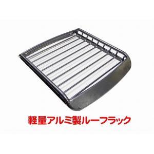 A-X(エークロス)シリーズ アルミ製ルーフラック Sサイズ シルバーブラック|showa-garage