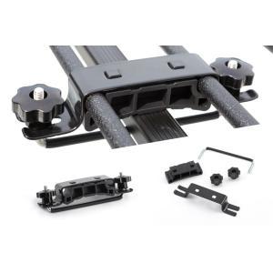 A-X(エークロス)シリーズ アルミ製ルーフラック Mサイズワイド ブラック showa-garage 06