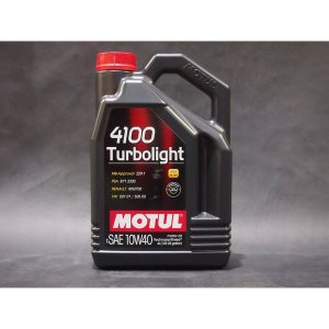 MOTUL 4100 Turbolight 10W40 4Lボトル|showa-garage