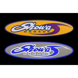 ショウワガレージロゴステッカー ジムニーJB23、JB33、JB43、JB64、JB74などに|showa-garage