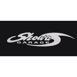 ショウワガレージロゴステッカー(切り抜き) 18cm ジムニーJB23、JB33、JB43、ハスラーMR31Sなどに|showa-garage