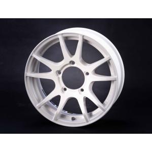RAYS Gram Lights 57JV ホワイト 4本セット ジムニーJB23、JB33、JB43、JB64、JB74など用|showa-garage