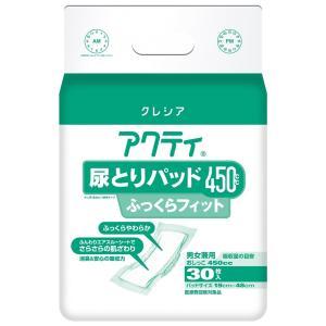 アクティ尿とりパッド450ふっくらフィット【30枚x6パック/ケース】|showa-shokai