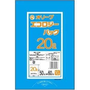 20Lゴミ袋 業務用 安い 【0.03mm厚 20L (青)】500x600cm  10枚入りx60冊 |showa-shokai