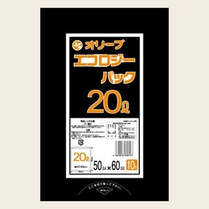 20Lゴミ袋 業務用 安い 【0.025mm厚 20L (黒)】500x600cm  10枚入りx60冊 |showa-shokai