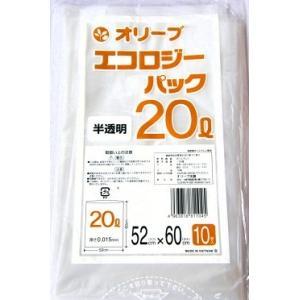 20Lゴミ袋 業務用 安い 【0.015mm厚 20L (半透明)】520x600cm  10枚入りx60冊 |showa-shokai