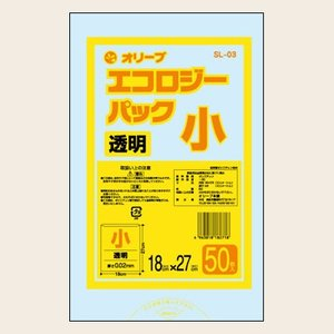 3Lゴミ袋 業務用 安い 【0.02mm厚 3L (透明 )】180x270cm  50枚入りx100冊|showa-shokai