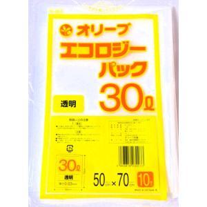 30Lゴミ袋 業務用 安い 【0.03mm厚 30L (透明)】500x700cm  10枚入りx60冊 |showa-shokai