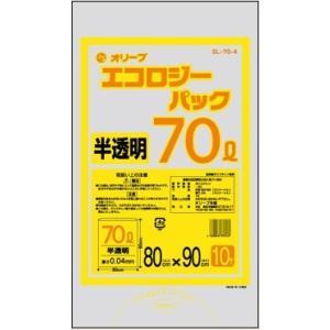 70Lゴミ袋   業務用 安い 【0.04mm厚 70L (半透明)】800x900cm  10枚入りx30冊|showa-shokai