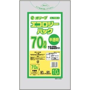 70Lゴミ袋   業務用 安い 【0.035mm厚 70L (半透明)】800x900cm  10枚入りx30冊 |showa-shokai