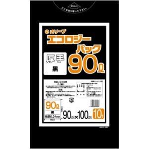 90Lゴミ袋   業務用 安い 【0.04mm厚 90L (黒)】900x1000cm  10枚入りx30冊 |showa-shokai