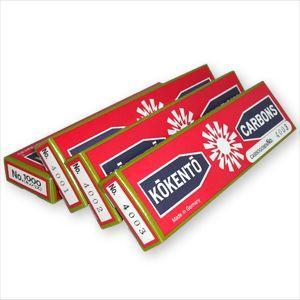 コウケントー カーボン灯 ドイツ製カーボン(10本入) No.1000(キノノリス)-4001〜4004 +レビューで選べるおまけ付