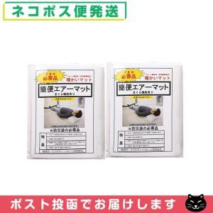 防災関連商品 避難用具 日本製 簡便エアーマット(まくら機能...
