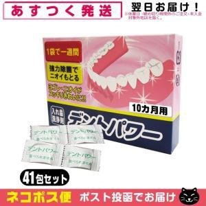 義歯洗浄剤 デントパワー(DENT POWER) 10ヵ月用(専用ケース無し)+レビューで選べるおまけ付 「メール便発送」「当日出荷」|showa69