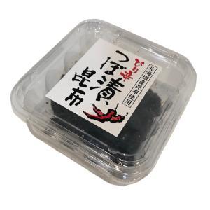 【箱売り】ぴり辛つぼ漬昆布 200g×18個入 緑健農園 北海道昆布使用