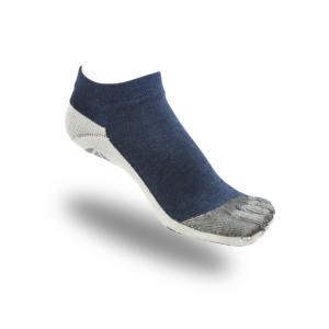 大人用はだし靴下‐ロード   5フィンガー (デニム)|showameriyasu