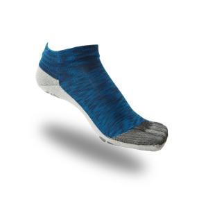 大人用はだし靴下‐ロード  5フィンガー (ブルーミックス)|showameriyasu