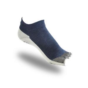 大人用はだし靴下‐ロード   オープン フィンガー (デニム)|showameriyasu