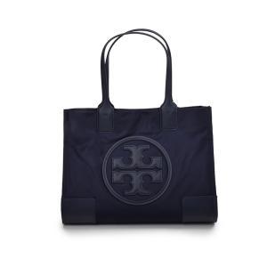 TORY BURCH トリーバーチ ELLA MINITOTE ネイビーミニトートバッグ イタリア正規品 45211 鞄 新品