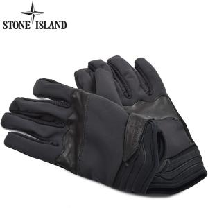 STONE ISLAND ストーンアイランド メンズ ソフトシェルグローブ 手袋 イタリア正規品 2016-2017AW 651592276
